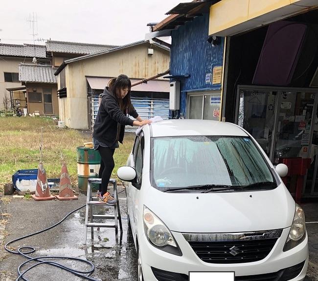 車内清掃の勧め