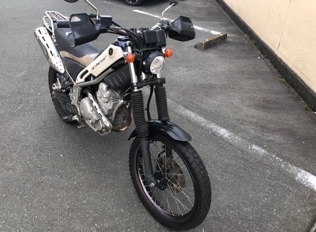 中古バイク ヤマハ トリッカー